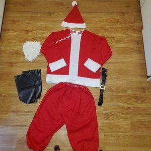 Men's Large Santa Clause Outfit